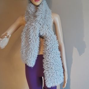 Accessories - Teddy bear scarf, size 6 x 64 inches